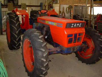 Tractor looking good!